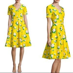 Draper James Magnolia Fit and Flare Floral Dress